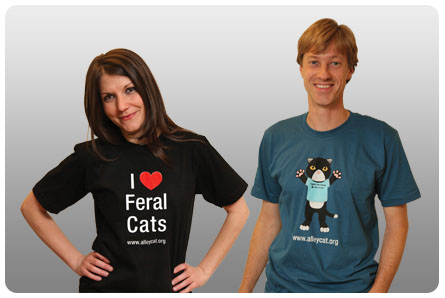 Alley Cat Allies T-Shirts!