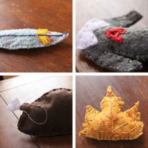 DIY Thanksgiving-Themed Cat Toys