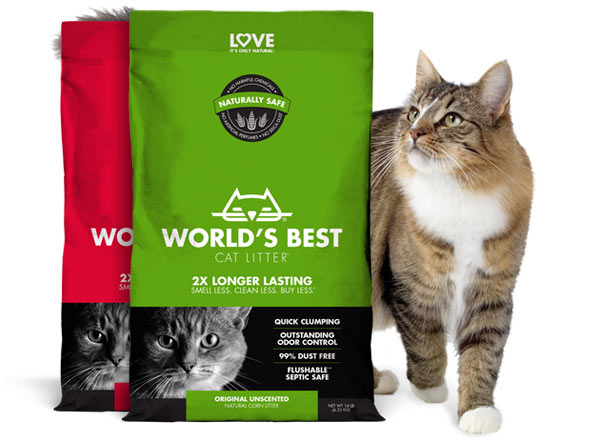 graphic regarding Cat Litter Printable Coupons titled Worlds Perfect Cat Litter™ Coupon Preserve $2.00